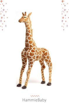 Our giant stuffed giraffe is perfect for any safari themed nursery, jungle room, playroom or gender neutral kids room. Check out our kids room lookbook for all of our safari themed decor items. Safari Theme Nursery, Themed Nursery, Nursery Themes, Room Themes, Nursery Ideas, Nursery Decor, Jungle Baby Room, Jungle Nursery, Animal Nursery