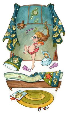 Molly Trainor's Portfolio - CHILDREN'S BOOK ILLUSTRATION
