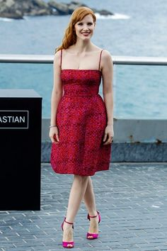 Best dressed - Jessica Chastain looking beautiful, as always.