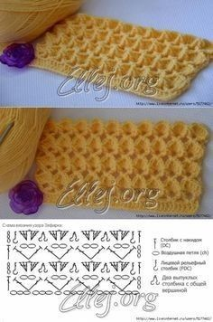 Watch This Video Beauteous Finished Make Crochet Look Like Knitting (the Waistcoat Stitch) Ideas. Amazing Make Crochet Look Like Knitting (the Waistcoat Stitch) Ideas. Crochet Stitches Chart, Crochet Motifs, Crochet Diagram, Knitting Stitches, Crochet Lace, Knitting Patterns, Crochet Patterns, Afghan Crochet, Pinterest Crochet