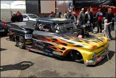 Pro Mod Chevy C10 Pick-Up - 'Fast' Freddie Fagerstrom | Flickr - Photo Sharing!