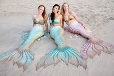 The beautiful mermaids of Finfolk Productions: Www.finfolkproductions.com