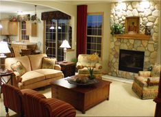 great rooms decor | Hickory Chair Furniture and Pearson Furniture add comfort and style to ...