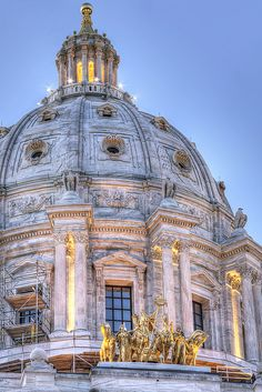 Minnesota State Capitol by dilapidated dresser