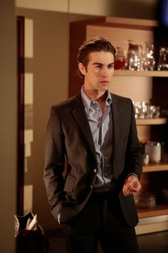 "Chace Crawford In ""The Unblariable Lightness Of Being"" (S3:E18)"