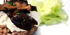 Vídeo-receita: hambúrguer com creme de raiz forte e shitake | DigaMaria.com
