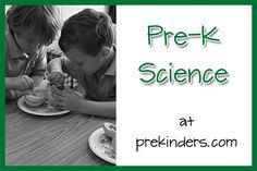 Pre-K science