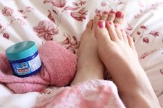 Rub your feet with Vicks Vapor Rub to stop coughing at night.  Place socks on to seal in the Vicks.  Supposedly the pores in the bottom of your feet will absorb the oils more quickly than any other part of your body.