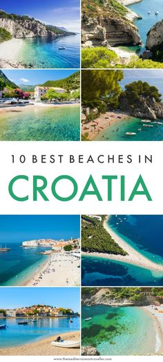 Croatia has a truly epic coastline with islands and pretty coves aplenty. But which are the best Cro Europe Destinations, Europe Travel Guide, Holiday Destinations, Travel Info, Travel Guides, Holiday Places, Most Beautiful Beaches, Beautiful Places, Croatia Travel