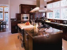 Charming Black Wood Kitchen Cabinets