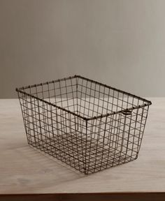 Wire Gym Basket, would use this as a bread basket
