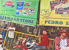 Philippines, Cebu, Carbon Market, still people & store banners Suga Suga, Philippines Cebu, Be Still, Banners, Marketing, Store, People, Fun, Archipelago