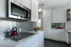 Stainless Steel Mosaic 1x3 Pinterest Subway Tiles Kitchen Backsplash And