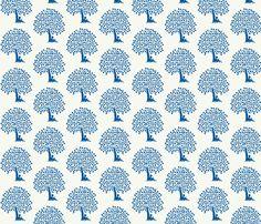 reading boy blue fabric by cinthiaenglisch on Spoonflower - custom fabric