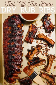 Slow Cooked Oven Ribs, Rub For Pork Ribs, Oven Pork Ribs, Ribs Recipe Oven, Oven Baked Ribs, Baby Back Pork Ribs, Bbq Pork, Bbq Ribs, Recipe For Ribs