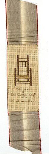 19th Century Ladies Art - Paper Punchwork Embroidered Bookmark.