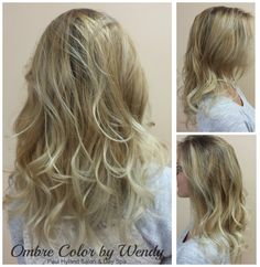 Gorgeous Ombre Color by Wendy. Pravana Pure Light with Olaplex. Toned with Redken Shades EQ.