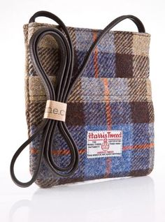 Harris Tweed Mini Messenger Bag - Brooke £59.00