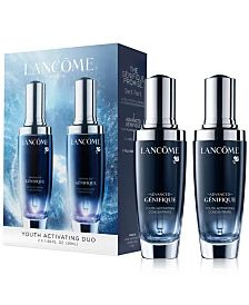 Lancôme 2-Pc. Advanced Génifique Face Serum Set & Reviews - Beauty Gift Sets - Beauty - Macy's Sephora, Acupressure Massage, Under Eye Puffiness, Peter Thomas Roth, Hydrating Serum, Anti Aging Serum, Younger Looking Skin, Clean Face, Face Serum