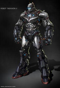 ✧ #characterconcepts ✧ ROBOT TAEKWON V