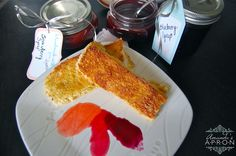 Overnight French Toast Sticks with Triple Berry Syrups - perfect breakfast for a crowd | Amanda's Apron