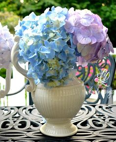 Heavenly Hydrangeas  http://lovelylivings.com/2015/07/22/heavenly-hydrangeas/