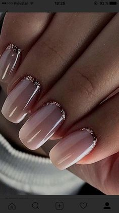 333ac3938666fc 30 Most Gorgeous Nails Light Nail Color For Fall 2018 - 016. Fall is the  magical season
