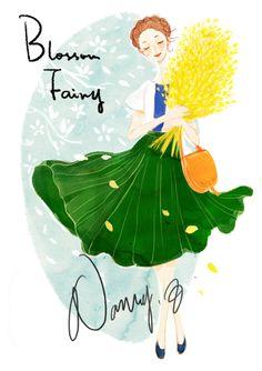 Blossom Fairy. Nancy Zhang.
