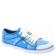 Amaya Sidewalk Chalk Cotton sneakers in blue by Rocket Dog @Rocket Dog
