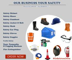 buy #safety #equipment's online from #wide #range & get massive #discounts.