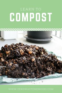 I can easily say that the single most intimidating thing to me about Zero Waste used to be compost. Today, I'm a lot less freaked out by the process! Here's everything I've learned.