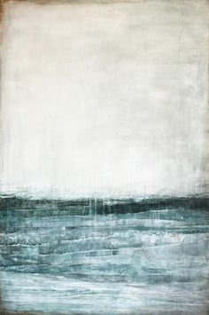 painting by Karine Leger - the north Modern Art, Contemporary Art, Encaustic Art, Painting Inspiration, Landscape Paintings, Landscapes, Art Photography, Illustration Art, Illustrations