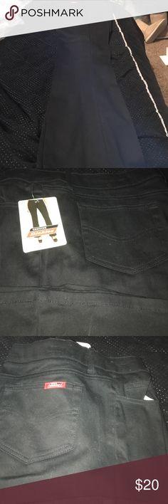 Dickies women's black Women's Black Dickies size 15 inseam 32 Dickies Jeans Straight Leg