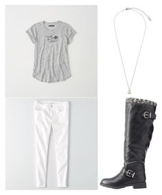 """""""Untitled #408"""" by eliz171 on Polyvore featuring Abercrombie & Fitch, American Eagle Outfitters, Charlotte Russe and Orelia"""