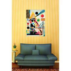 KANDINSKY - Ondeggiamento, 1925 70x100 cm #artprints #interior #design #art #print #iloveart #followart #artist #fineart #artwit  Scopri Descrizione e Prezzo http://www.artopweb.com/autori/wassily-kandinsky%20/EC16078