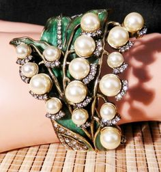 Heidi Daus Lily of the Valley Easter Bracelet S/M   Ret: $179.95  $30 OFF!! #HeidiDaus