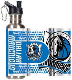 Kohl's Dallas Mavericks Stainless Steel Water Bottle With Wrap