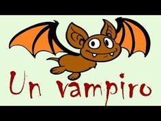 Un vampiro - Cuento infantil de miedo - Con subtítulos
