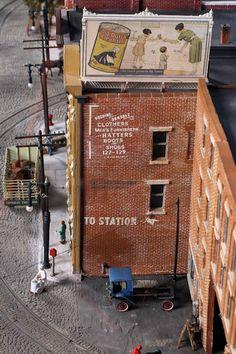 model streetcars | Jacob Libhart's City Streetcar Model Railroad Diorama