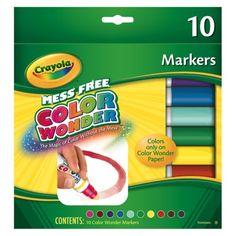 Crayola Color Wonder 10ct Markers