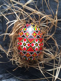 It's all about Easter! It's all about Beauty! It's all about unique and delicate handmade decoration. Hollow goose eggs with folk decor! Available from Beetroom to order. #eastereggs #easter #spring #folk