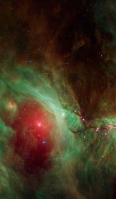 Orion Nebula in infrared . Cosmos, Mind Blowing Images, Arte Tribal, Orion Nebula, Wallpaper Space, Gods Creation, Deep Space, Space Exploration, Science And Nature