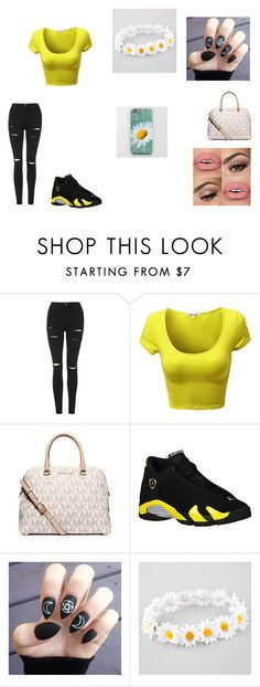 """""""Going for a walk in the park"""" by juss-mii ❤ liked on Polyvore featuring Topshop, MICHAEL Michael Kors, Retrò and Full Tilt"""