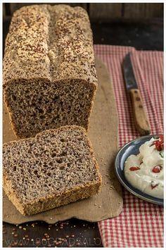Rezept für ein Superfood Brot mit Quinoa und Amaranth   inkl. Thermomix Anleitung