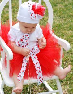 Cherry Delight Little Girl's Tutu