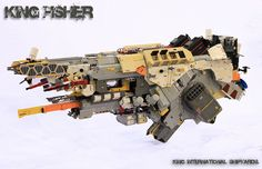Kingfisher Assult Unit by KingBrick
