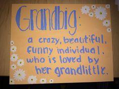 Grandbig sorority gift