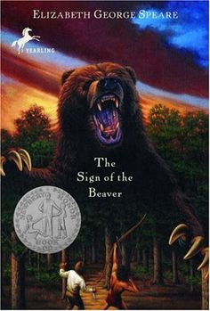 Sign of the Beaver by Elizabeth G. Speare--I still love this book for 2 reasons:  it's how I met my husband :) and the kids love it and the movie.