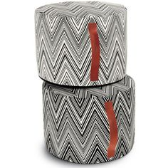Missoni Home » Chevron Pouf