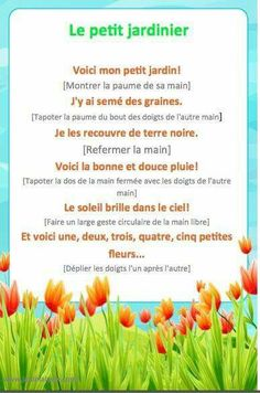 Printemps - fun comptines for Spring. French Teaching Resources, Teaching French, Spring Activities, Activities For Kids, Music Activities, French Poems, French Nursery, Montessori, Fall Art Projects